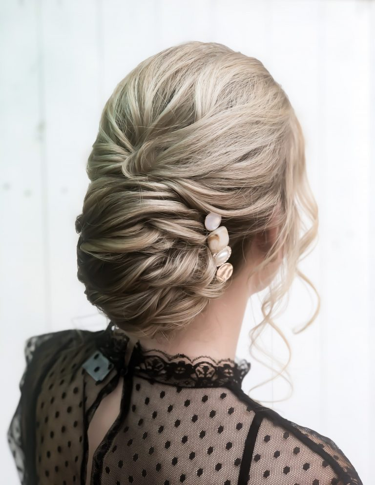Structured French Twist