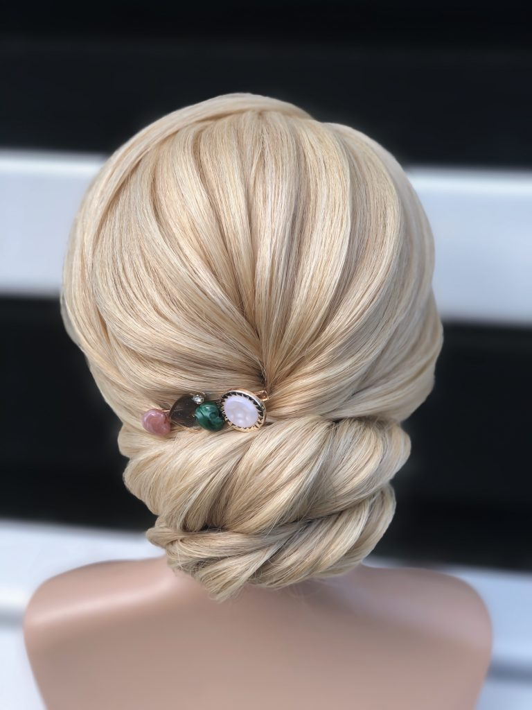 Updo with 3D