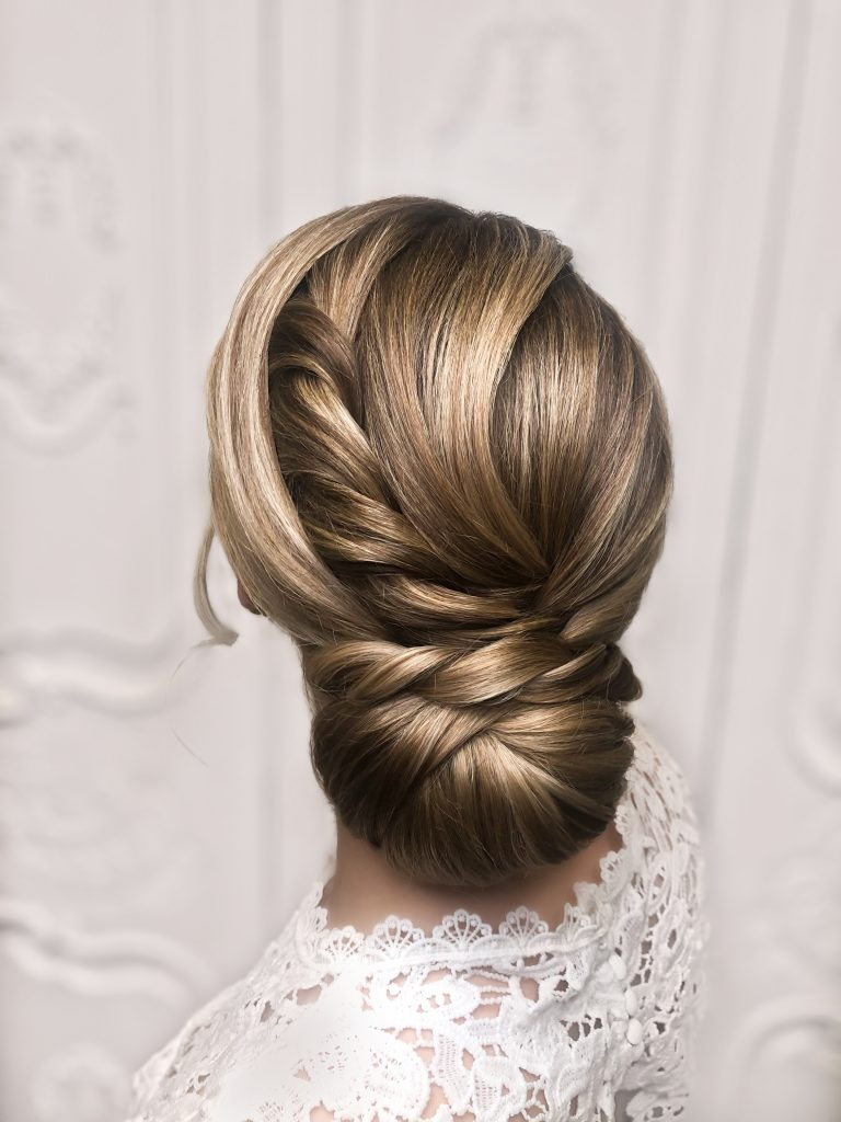 New bridal updo